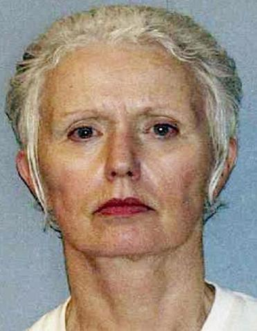 An undated booking photo shows Catherine Greig, the longtime girlfriend of Whitey Bulger.